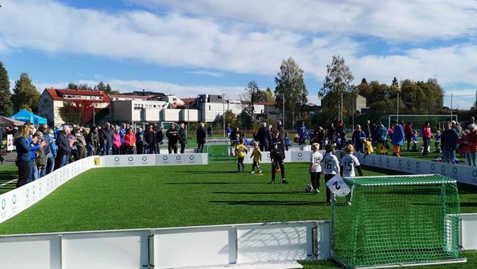 Eina Mini Stadion - 3er baner til barnefotball